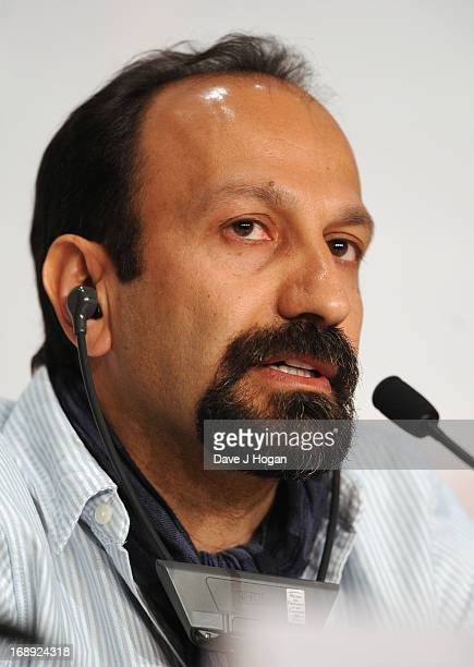 Director Asghar Farhadi attends 'Le Passe' Press Conference during the 66th Annual Cannes Film Festival at the Palais des Festivals on May 17 2013 in...