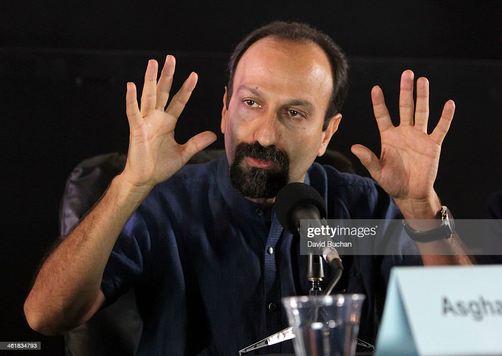 Director <a gi-track='captionPersonalityLinkClicked' href=/galleries/search?phrase=Asghar+Farhadi&family=editorial&specificpeople=5700577 ng-click='$event.stopPropagation()'>Asghar Farhadi</a> attends the Golden Globe Foreign Language Film Symposium at the Egyptian Theatre on January 11, 2014 in Hollywood, California.