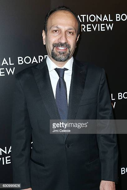 Director Asghar Farhadi attends The National Board of Review Gala on January 4 2017 in New York City