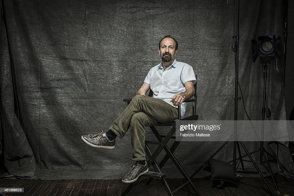 Director <a gi-track='captionPersonalityLinkClicked' href=/galleries/search?phrase=Asghar+Farhadi&family=editorial&specificpeople=5700577 ng-click='$event.stopPropagation()'>Asghar Farhadi</a> is photographed for The Hollywood Reporter during the 38th annual Toronto International Film Festival on September 9, 2013 in Toronto, Ontario. ON INTERNATIONAL EMBARGO (USA) UNTIL DECEMBER 19, 2013.