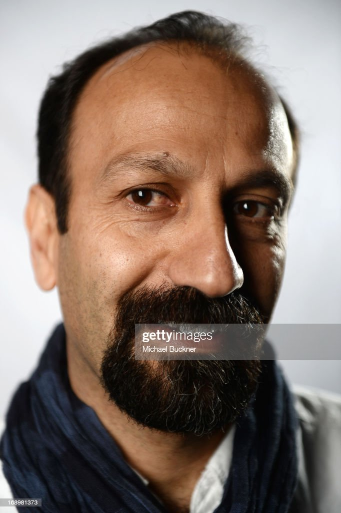 Director <a gi-track='captionPersonalityLinkClicked' href=/galleries/search?phrase=Asghar+Farhadi&family=editorial&specificpeople=5700577 ng-click='$event.stopPropagation()'>Asghar Farhadi</a> poses for a portrait at the Variety Studio at the 66th Annual Cannes Film Festival at Chivas House on May 18, 2013 in Cannes, France.