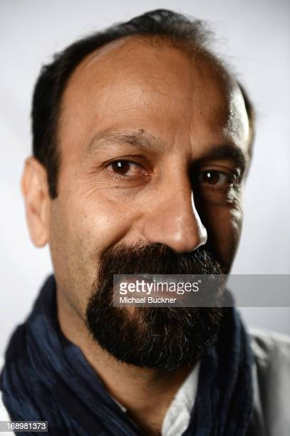 Director Asghar Farhadi poses for a portrait at the Variety Studio at the 66th Annual Cannes Film Festival at Chivas House on May 18 2013 in Cannes...