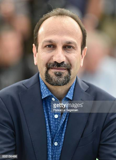 Director Ashgar Farhadi attends 'The Salesman ' Photocall during the 69th annual Cannes Film Festival at the Palais des Festivals on May 21 2016 in...