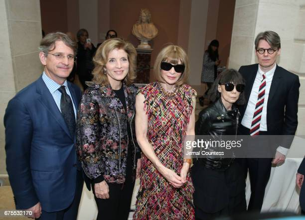 Director at the Metropolitan Museum of Art Thomas P Campbell former United States ambassador to Japan Caroline Kennedy Artistic Director for Cond...