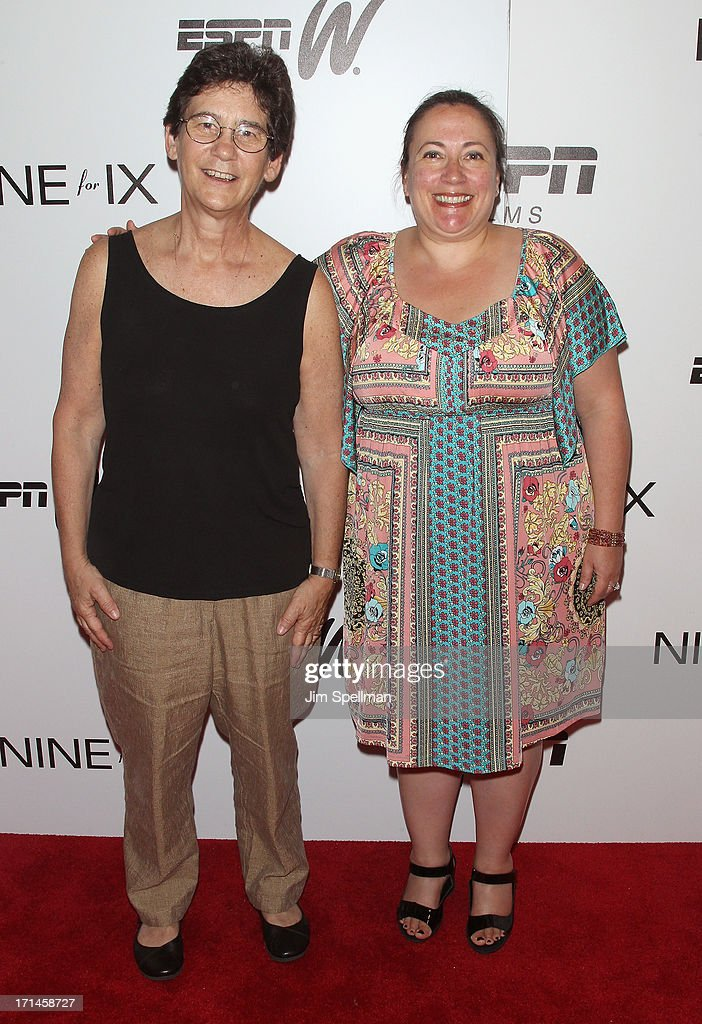 Director Athena Center for Leadership Studies at Barnard College Kathryn Kolbert and Melissa Silverstein attend 'Venus Vs' and 'Coach' New York...