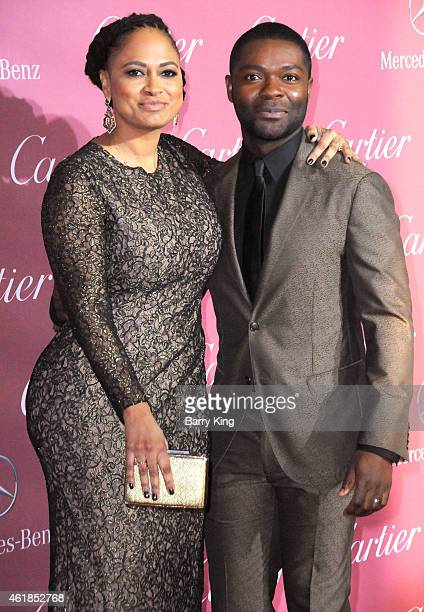 Director Ava DuVernay and actor David Oyelowo arrive at the 26th Annual Palm Springs International Film Festival Awards Gala Presented by Cartier at...