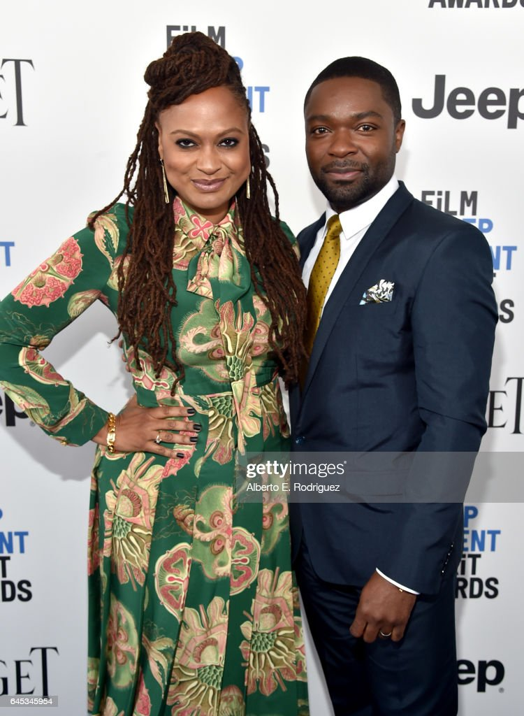Director Ava DuVernay (L) and actor David Oyelowo attend the 2017 Film Independent Spirit Awards at the Santa Monica Pier on February 25, 2017 in Santa Monica, California.