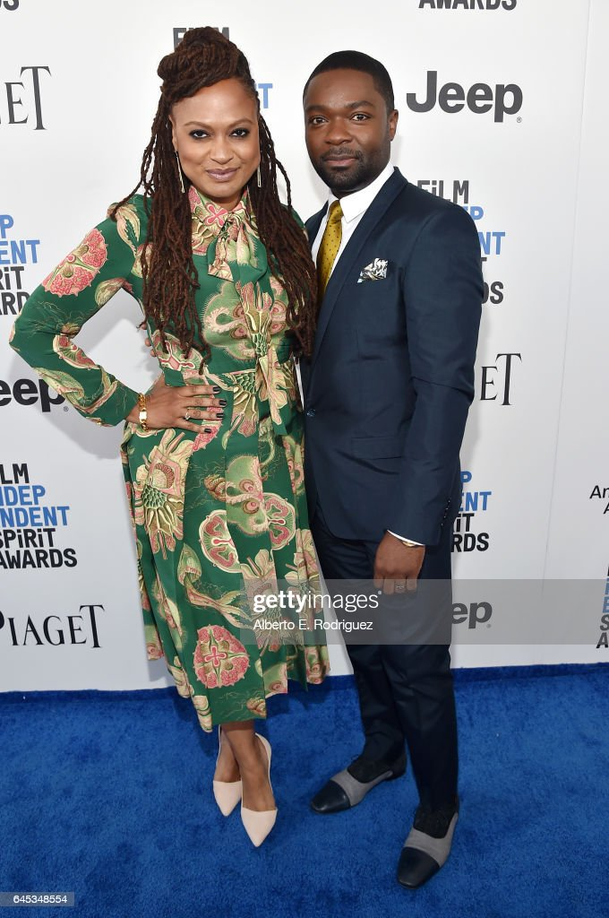 Director Ava DuVernay and actor David Oyelowo attend the 2017 Film Independent Spirit Awards at the Santa Monica Pier on February 25, 2017 in Santa Monica, California.