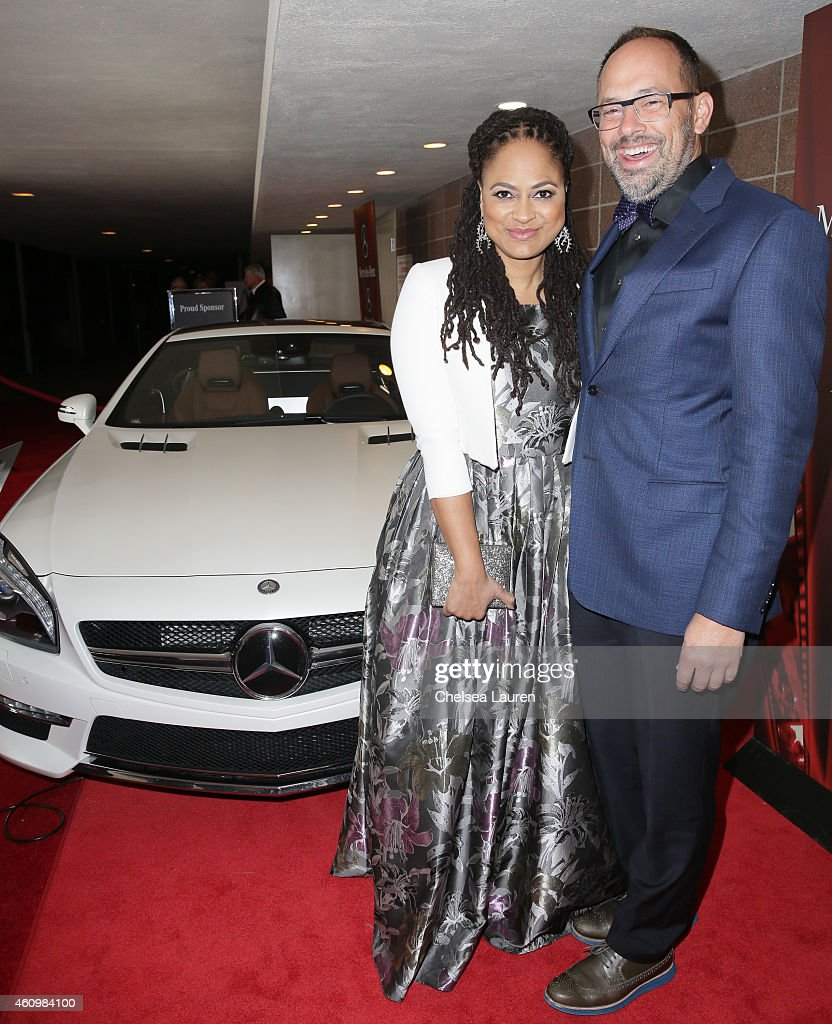 Director Ava DuVernay (L) arrives with Mercedes-Benz at the 2015 Palm Springs International Film Festival on January 2, 2015 in Palm Springs, California.