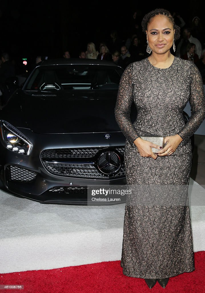 Director Ava DuVernay arrives with Mercedes-Benz at the 26th annual Palm Springs International Film Festival Awards Gala on January 3, 2015 in Palm Springs, California.
