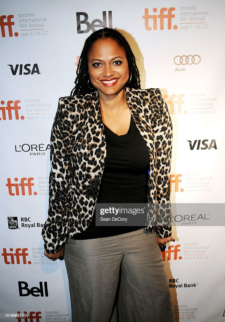 Director Ava DuVernay attend 'Middle Of Nowhere' premiere during the 2012 Toronto International Film Festival at the Scotiabank Theatre on September 12, 2012 in Toronto, Canada.
