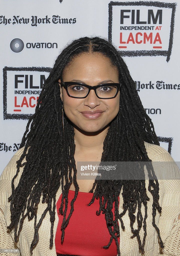 Director Ava DuVernay attends Cassavetes' 'Shadow 2013' - Film Independent Spirit Awards Nominee Discussion And Free Screening Co-Presented By The New York Times Film Club at Bing Theatre At LACMA on February 14, 2013 in Los Angeles, California.