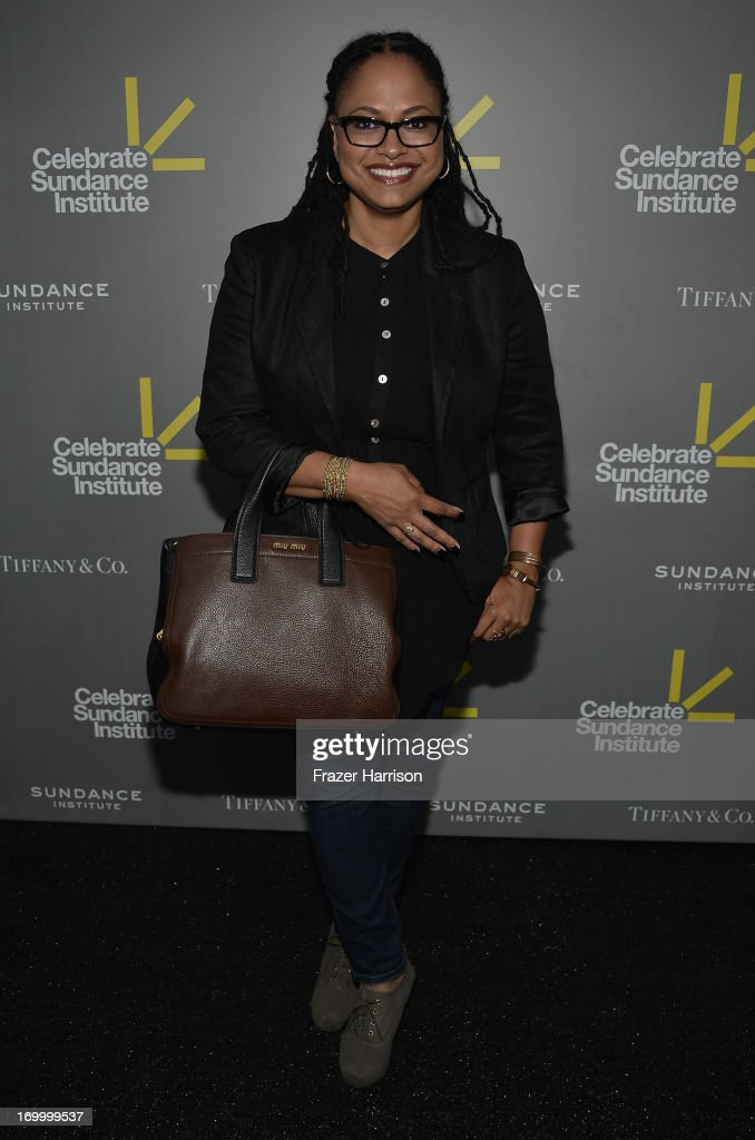 Director Ava DuVernay attends the 2013 'Celebrate Sundance Institute' Los Angeles Benefit hosted by Tiffany & Co. at The Lot on June 5, 2013 in West Hollywood, California.