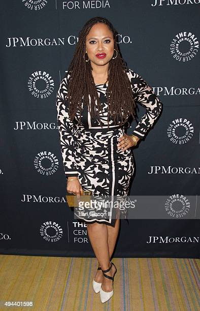 Director Ava DuVernay attends The Paley Center For Media's Tribute To AfricanAmerican Achievements In Telelvison at the Beverly Wilshire Four Seasons...
