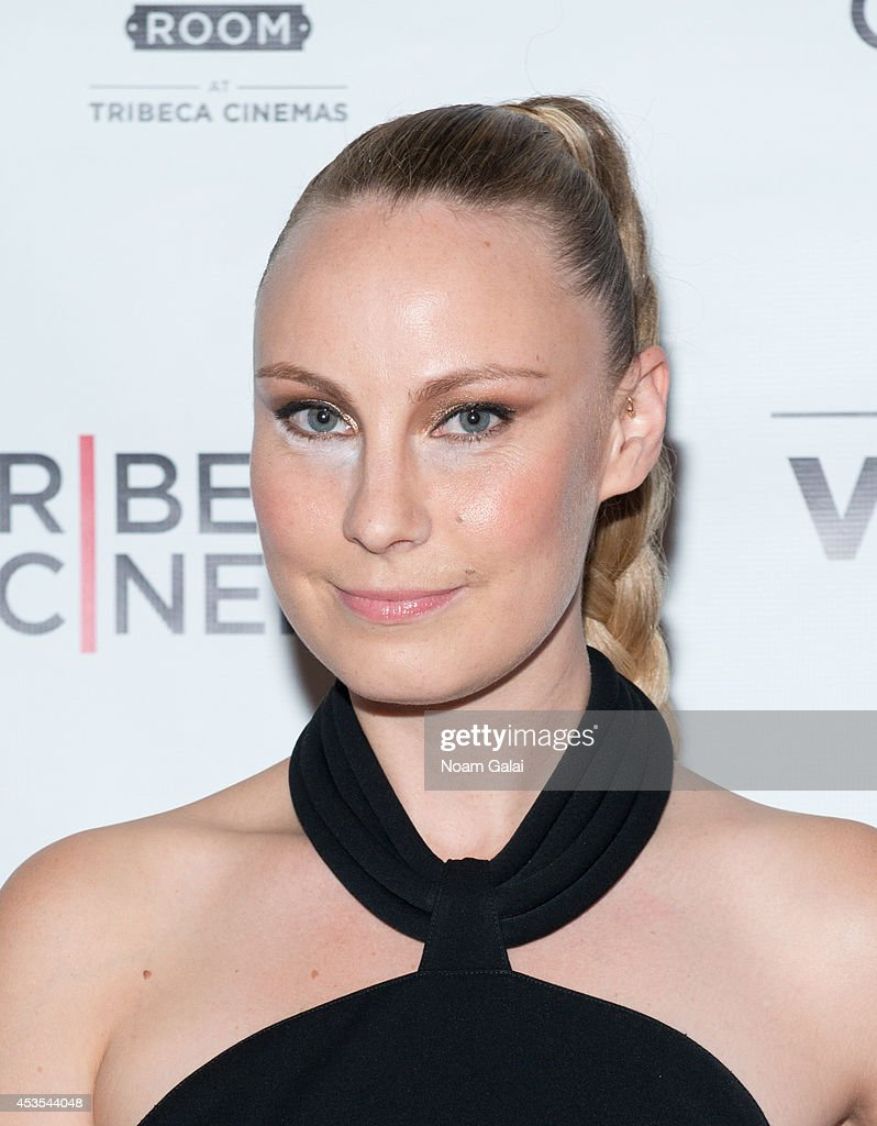 Director Ava Warbrick attends the 'Stephanie In The Water' New York Premiere at Tribeca Cinemas on August 12 2014 in New York City