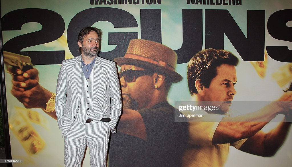 Director Baltasar Kormakur attends the '2 Guns' New York Premiere at SVA Theater on July 29, 2013 in New York City.