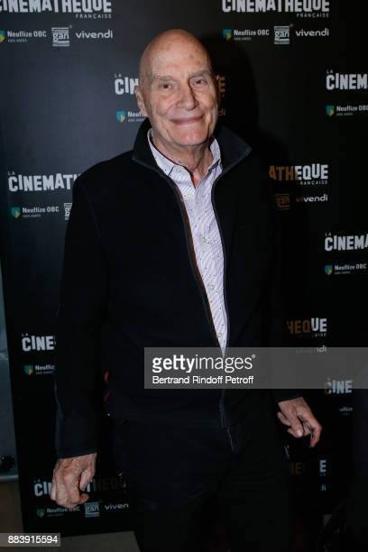 Director Barbet Schroeder attends the 'Les Gardiennes' Paris Premiere at la cinematheque on December 1 2017 in Paris France