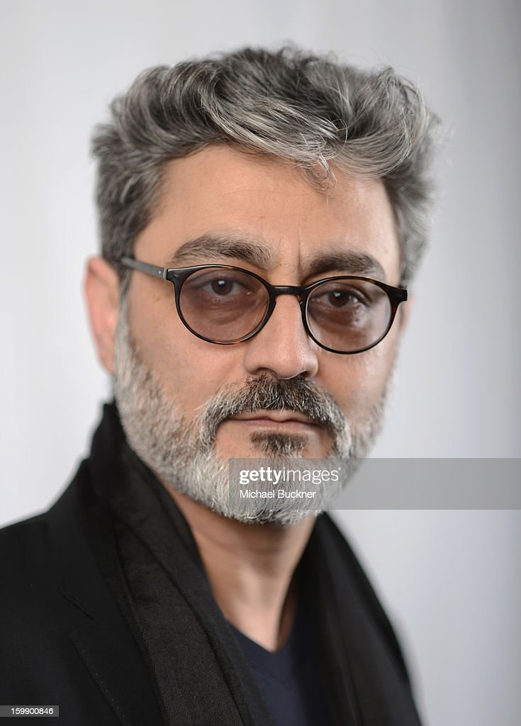 Director Barmak Akram poses for a portrait at the Photo Studio for MSN Wonderwall at ChefDance on January 22, 2013 in Park City, Utah.