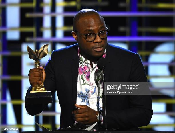 Director Barry Jenkins accepts the Best Director award for 'Moonlight' onstage during the 2017 Film Independent Spirit Awards at the Santa Monica...