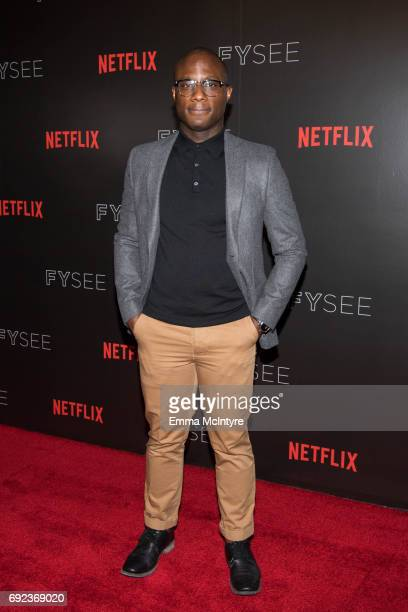Director Barry Jenkins arrives at Netflix's 'Dear White People' FYC event at Netflix FYSee Space on June 4 2017 in Beverly Hills California