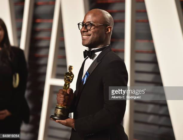 Director Barry Jenkins attends the 2017 Vanity Fair Oscar Party hosted by Graydon Carter at Wallis Annenberg Center for the Performing Arts on...