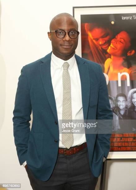 Director Barry Jenkins attends The Academy of Motion Picture Arts and Sciences' 20th Anniversary Celebration of 'Love Jones' at the Samuel Goldwyn...