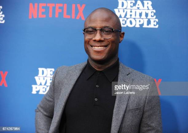Director Barry Jenkins attends the premiere of 'Dear White People' at Downtown Independent on April 27 2017 in Los Angeles California