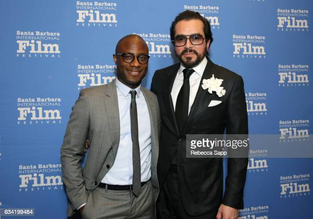 Director Barry Jenkins of 'Moonlight' and SBIFF Executive Director Roger Durling attend the Outstanding Director's Award during the 32nd Santa...
