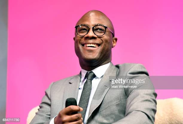 Director Barry Jenkins of 'Moonlight speaks onstage at the Outstanding Director's Award during the 32nd Santa Barbara International Film Festival at...
