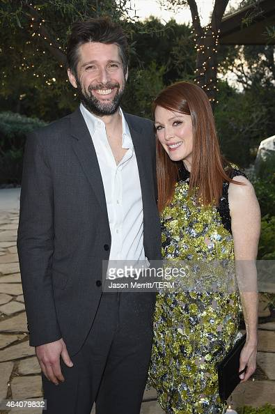 Director Bart Freundlich and actress Julianne Moore attend Sony Pictures Entertainment Celebrates its' Nominees along with GREY GOOSE Vodka at...