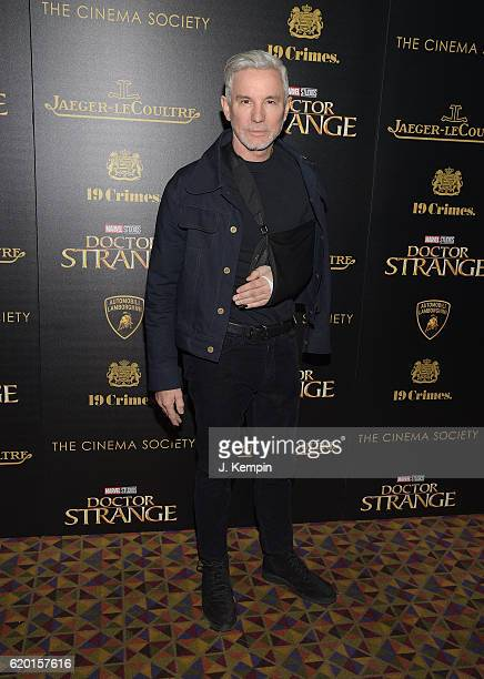 Director Baz Luhrmann attends the Screening of Marvel Studios' 'Doctor Strange' hosted by Lamborghini with the Cinema Society JaegerLeCoultre and 19...