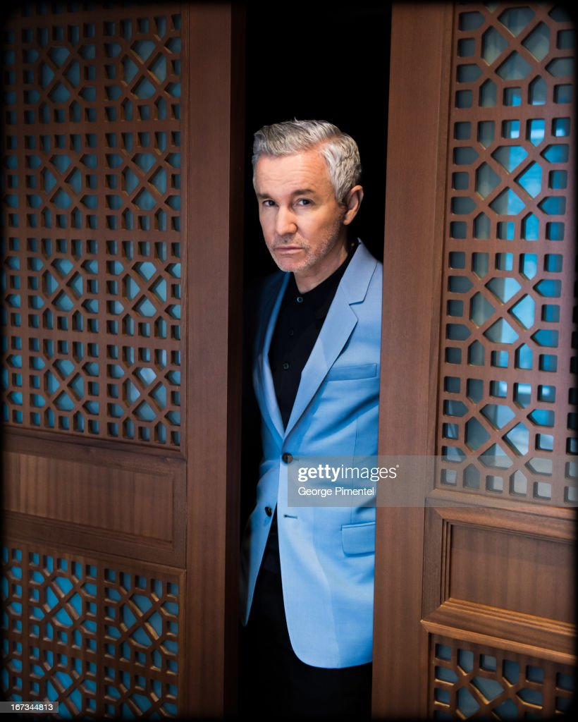 Director <a gi-track='captionPersonalityLinkClicked' href=/galleries/search?phrase=Baz+Luhrmann&family=editorial&specificpeople=209230 ng-click='$event.stopPropagation()'>Baz Luhrmann</a> promotes his movie 'The Great Gatsby' at Shangri-La Hotel on April 24, 2013 in Toronto, Canada.