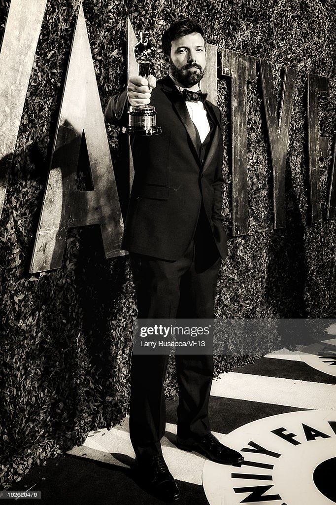 Director <a gi-track='captionPersonalityLinkClicked' href=/galleries/search?phrase=Ben+Affleck&family=editorial&specificpeople=201856 ng-click='$event.stopPropagation()'>Ben Affleck</a> arrives for the 2013 Vanity Fair Oscar Party hosted by Graydon Carter at Sunset Tower on February 24, 2013 in West Hollywood, California.
