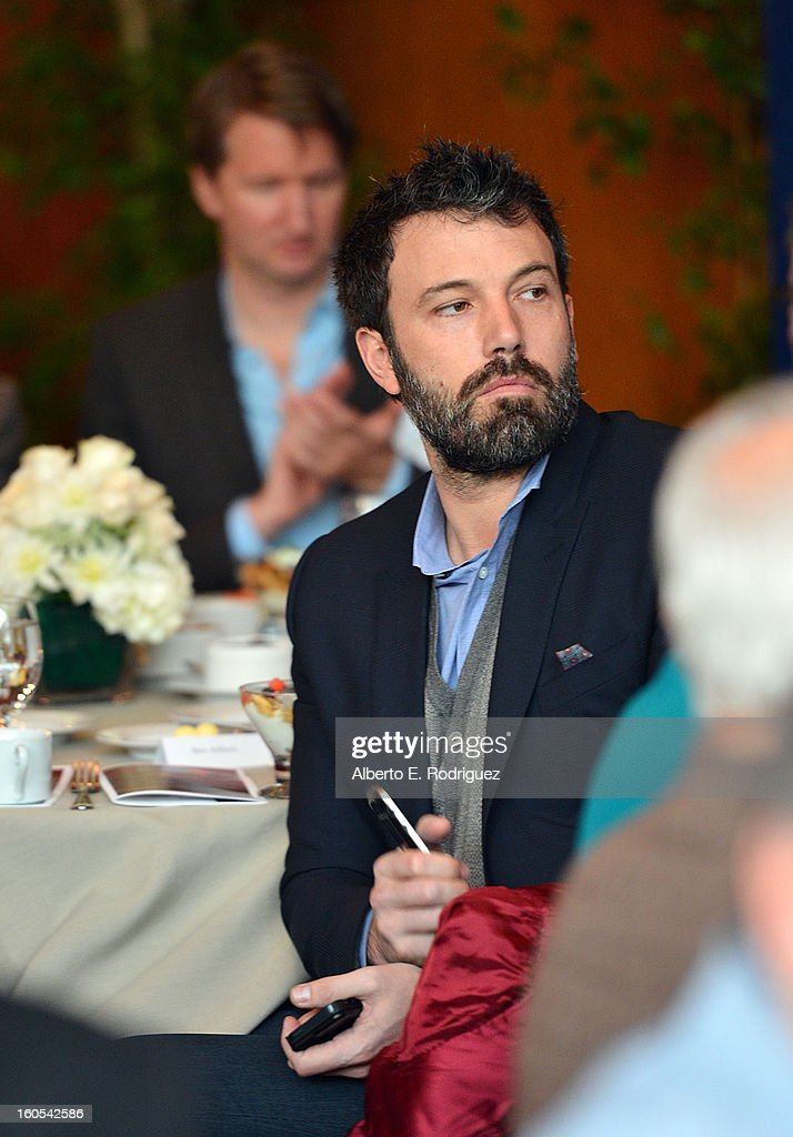Director <a gi-track='captionPersonalityLinkClicked' href=/galleries/search?phrase=Ben+Affleck&family=editorial&specificpeople=201856 ng-click='$event.stopPropagation()'>Ben Affleck</a> attends the 65th Annual Directors Guild of America Awards President's Breakfast held at the DGA on February 2, 2013 in Los Angeles, California.