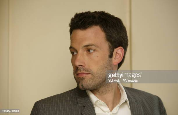 Director Ben Affleck during a photocall for 'Gone Baby Gone' at the Mandarin Oriental hotel in west London