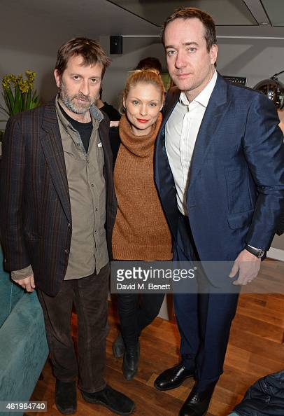 Director Ben Hopkins MyAnna Buring and Matthew Macfadyen attend a screening of 'Lost In Karastan' during the 4th annual LOCO London Comedy Film...