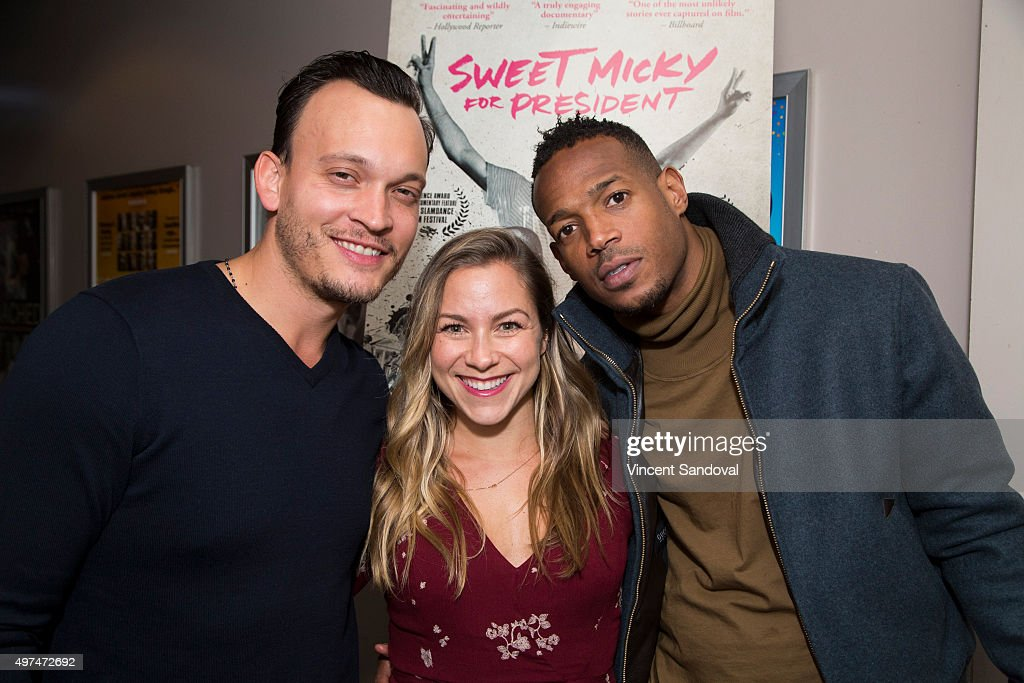 director ben patterson executive producer allison hagendorf and actor producer marlon wayans attend the