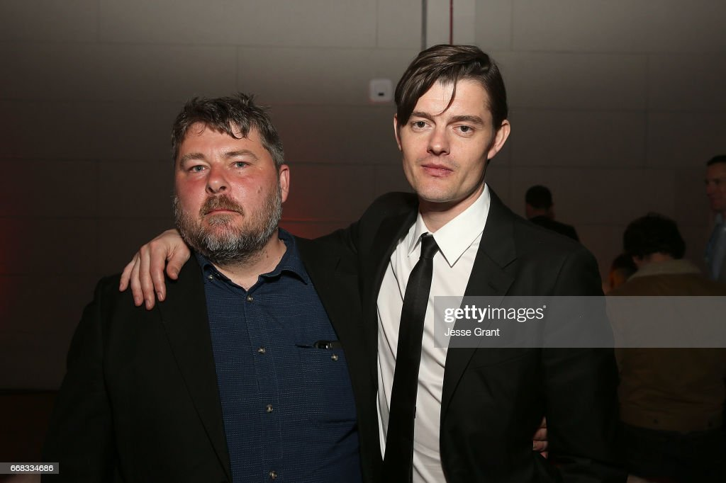 Director Ben Wheatley and actor Sam Riley attend the premiere of A24's 'Free Fire' after party on April 13, 2017 in Los Angeles, California.