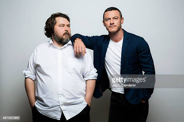 Director Ben Wheatley and Luke Evans of the film 'HighRise' are photographed for Los Angeles Times on September 25 2015 in Toronto Ontario PUBLISHED...