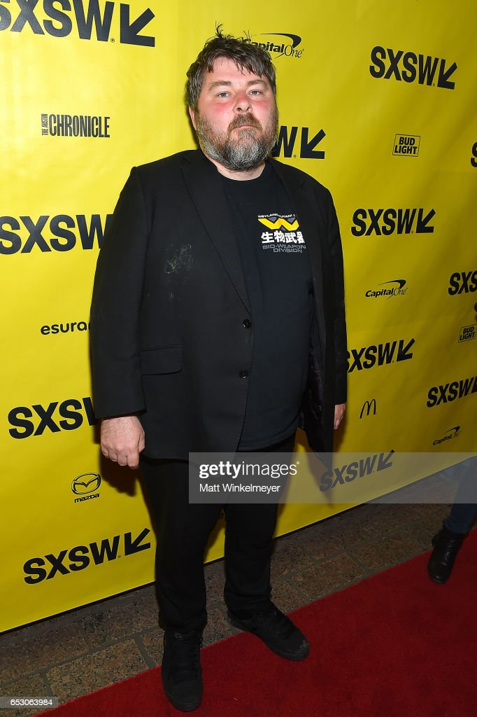 Director Ben Wheatley attends the 'FREE FIRE' premiere 2017 SXSW Conference and Festivals on March 13, 2017 in Austin, Texas.