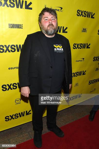 Director Ben Wheatley attends the 'FREE FIRE' premiere 2017 SXSW Conference and Festivals on March 13 2017 in Austin Texas