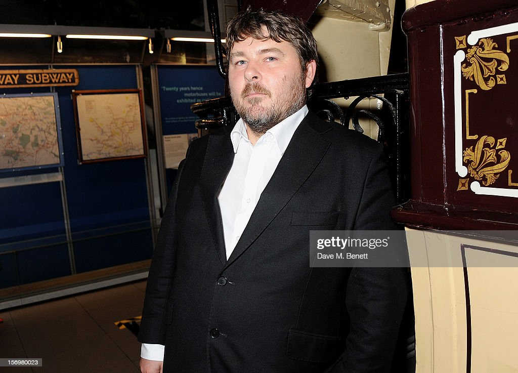 Director Ben Wheatley attends the UK Premiere of 'Sightseers' in association with Stella Artois at the London Transport Museum on November 26, 2012 in London, England.