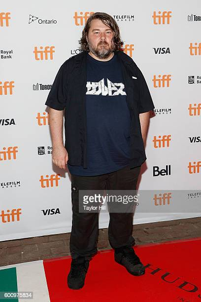 Director Ben Wheatley attends the world premiere of 'Free Fire' during the 2016 Toronto International Film Festival at Ryerson Theatre on September 7...