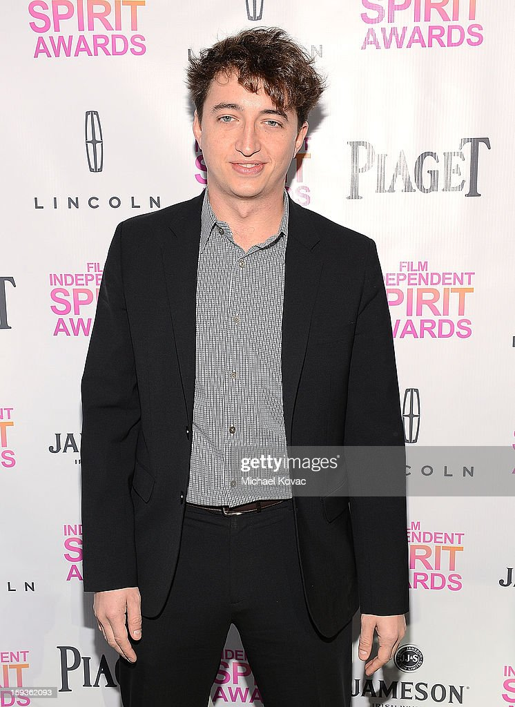 Director Benh Zeitlin attends the 2013 Film Independent Filmmaker Grant And Spirit Awards Nominees Brunch at BOA Steakhouse on January 12, 2013 in West Hollywood, California.
