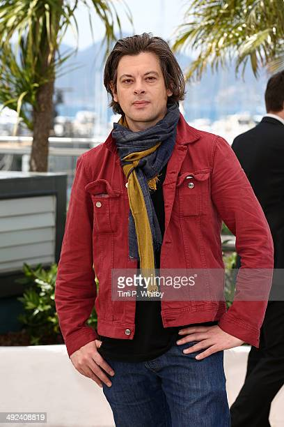 Director Benjamin Biolay attends the 'Adami' photocall at the 67th Annual Cannes Film Festival on May 20 2014 in Cannes France