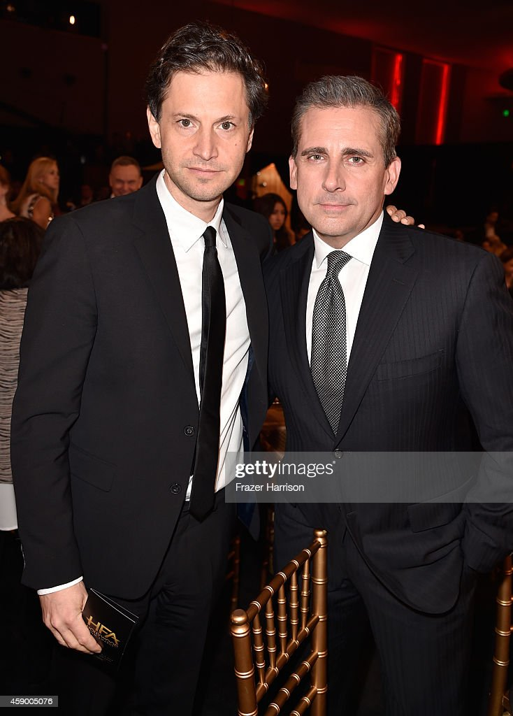 Director Bennett Miller (L) and actor Steve Carell attend the 18th Annual Hollywood Film Awards at The Palladium on November 14, 2014 in Hollywood, California.