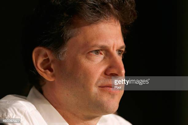 Director Bennett Miller attends the 'Foxcatcher' press conference during the 67th Annual Cannes Film Festival on May 19 2014 in Cannes France