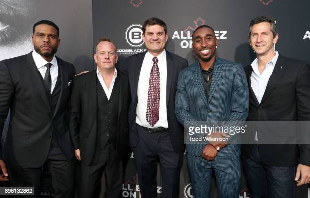 Director Benny Boom producer David Robinson Lionsgate President of Acquisitions CoProductions Jason Constantine actor Demetrius Shipp Jr and...
