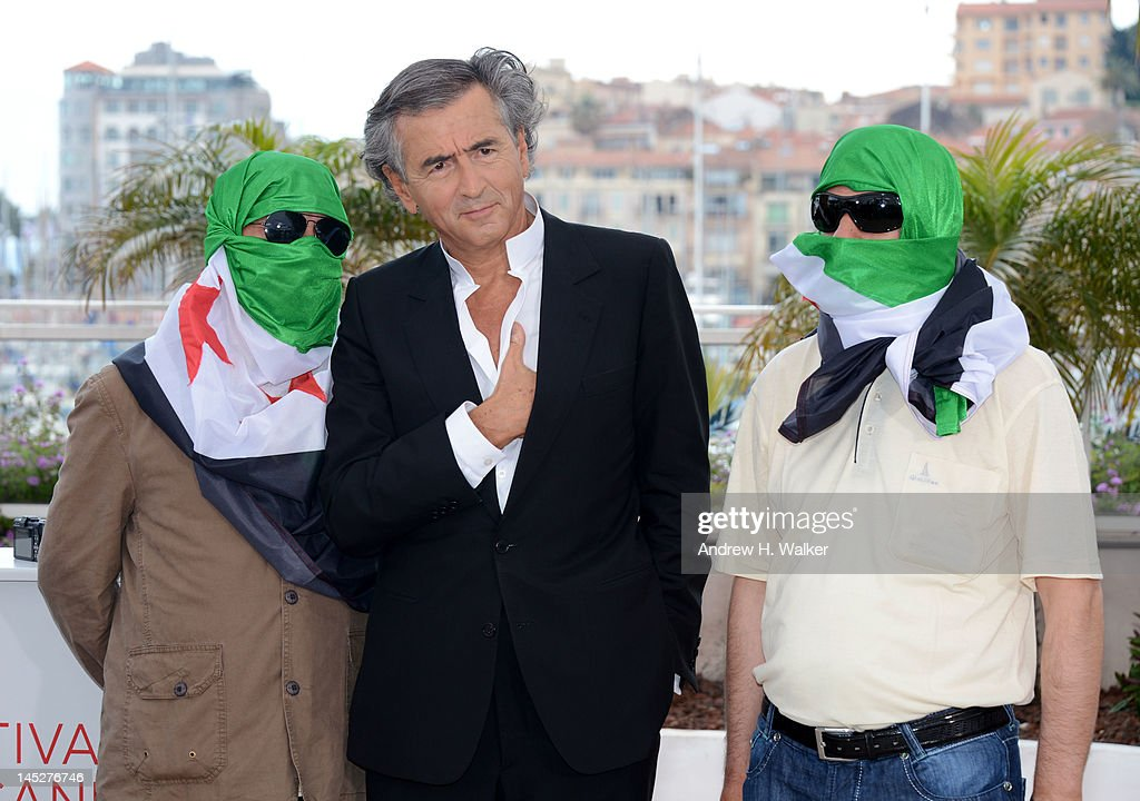 Director Bernard-Henri Levy poses at the 'Le Serment de Tobrouk' photocall during the 65th Annual Cannes Film Festival at Palais des Festivals on May 25, 2012 in Cannes, France.