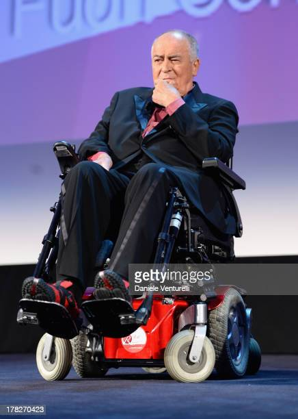 Director Bernardo Bertolucci attends the Opening Ceremony during The 70th Venice International Film Festival on August 28 2013 in Venice Italy